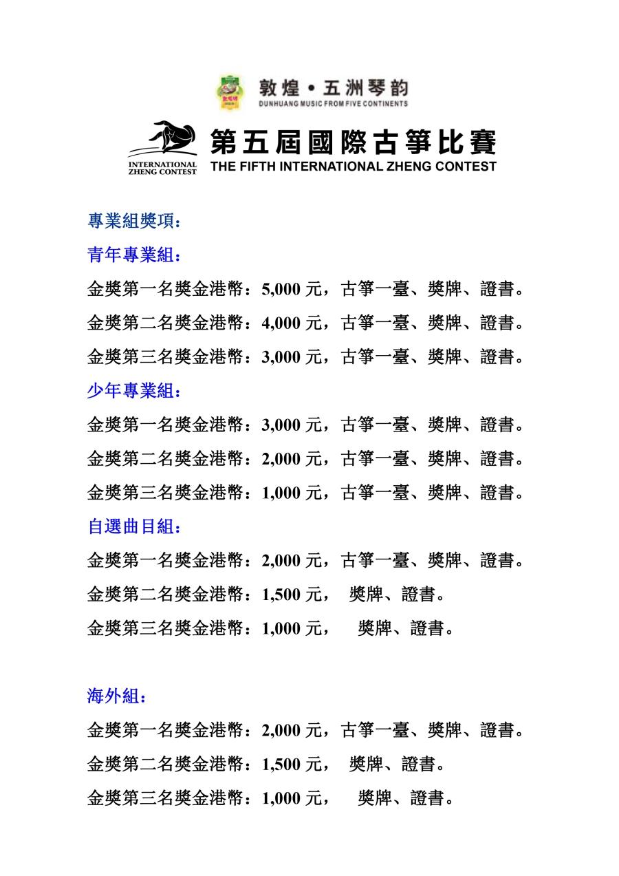 两年一届的《国際古箏比賽》,2013年将進入第三